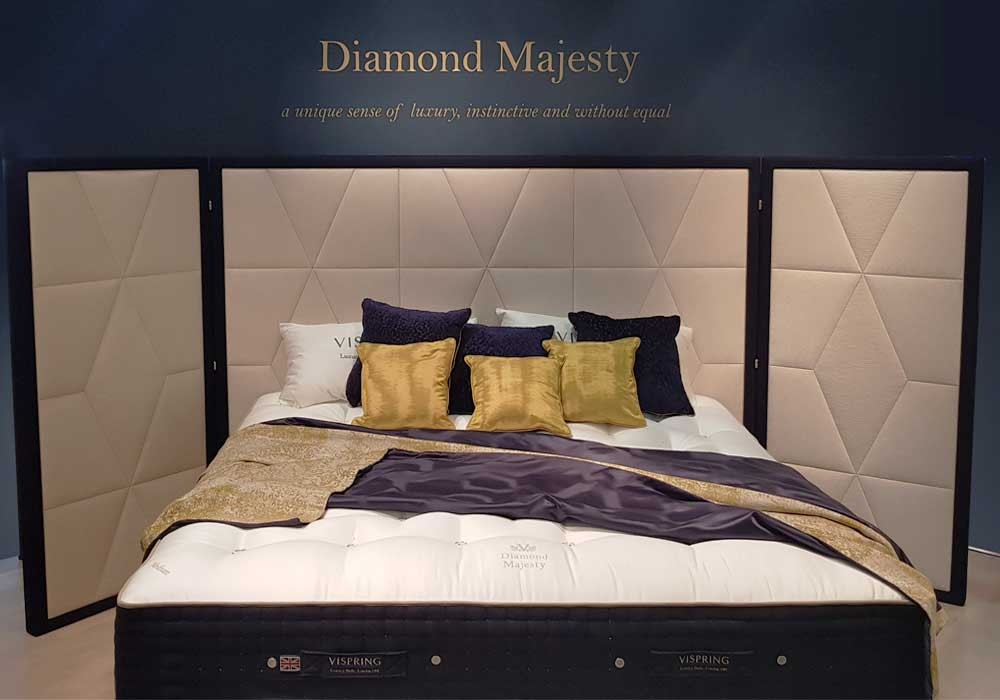 VISPRING | MAJESTY DIAMOND - Salone del Mobile Milano 2018