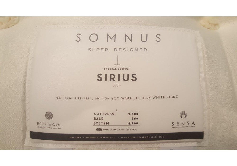 SOMNUS | Boxspringbett | Sirius 5