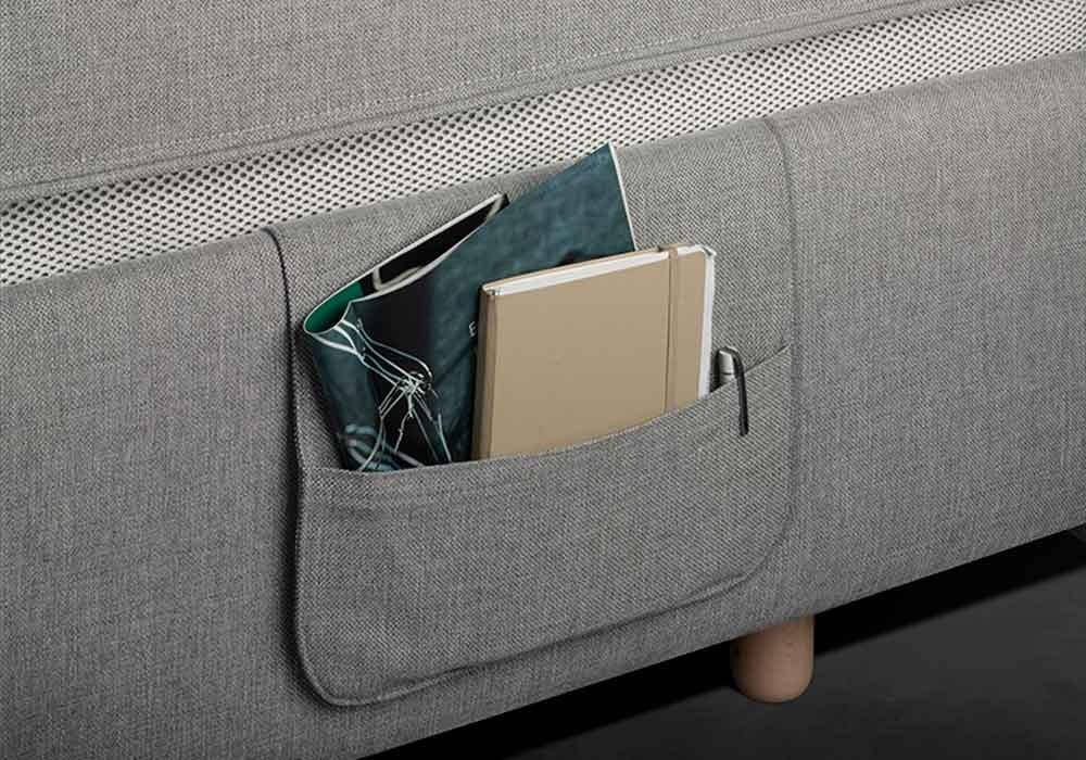 praktische, unauffällige Tasche für fernbedienungen, Notizen oder Zeitschriften