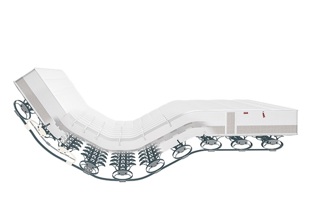 Lattoflex Matratze für junge Menschen, 90x200, 100x200, 140x200, mit Lattenrost Lattoflex integriert, Bezug abnehmbar