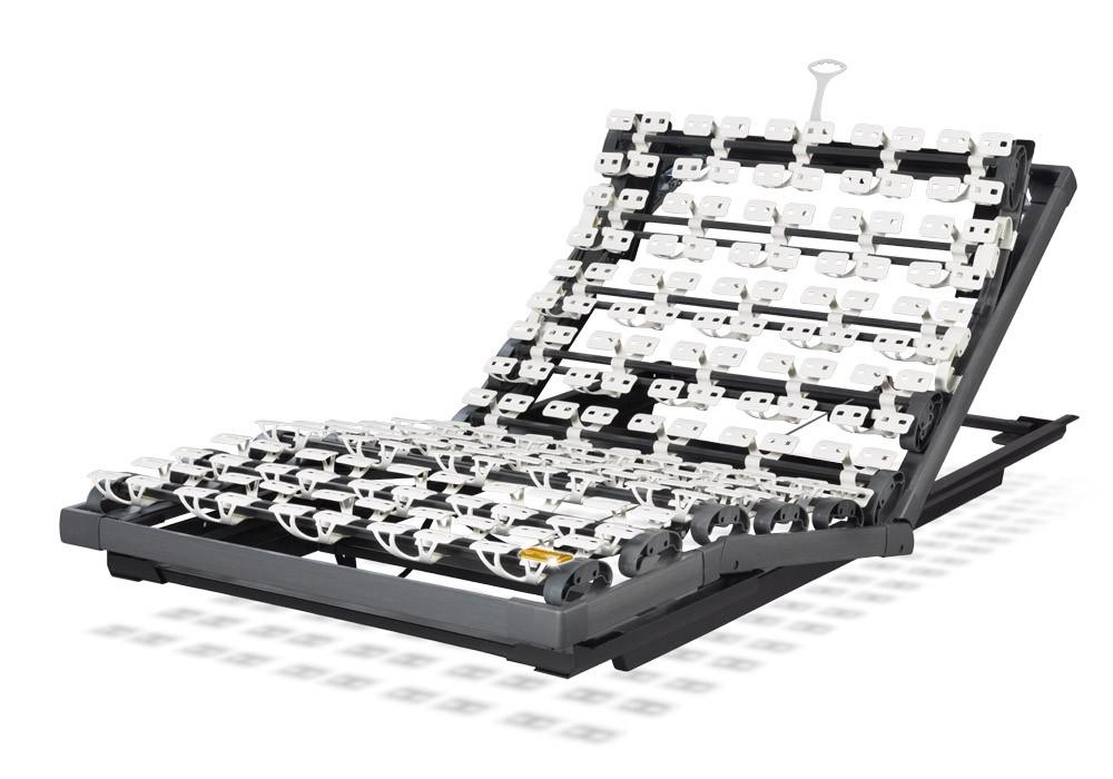 Der High Tech Rahmen mit Gasdruckverstellung für jedes Bett | Lattoflex 270