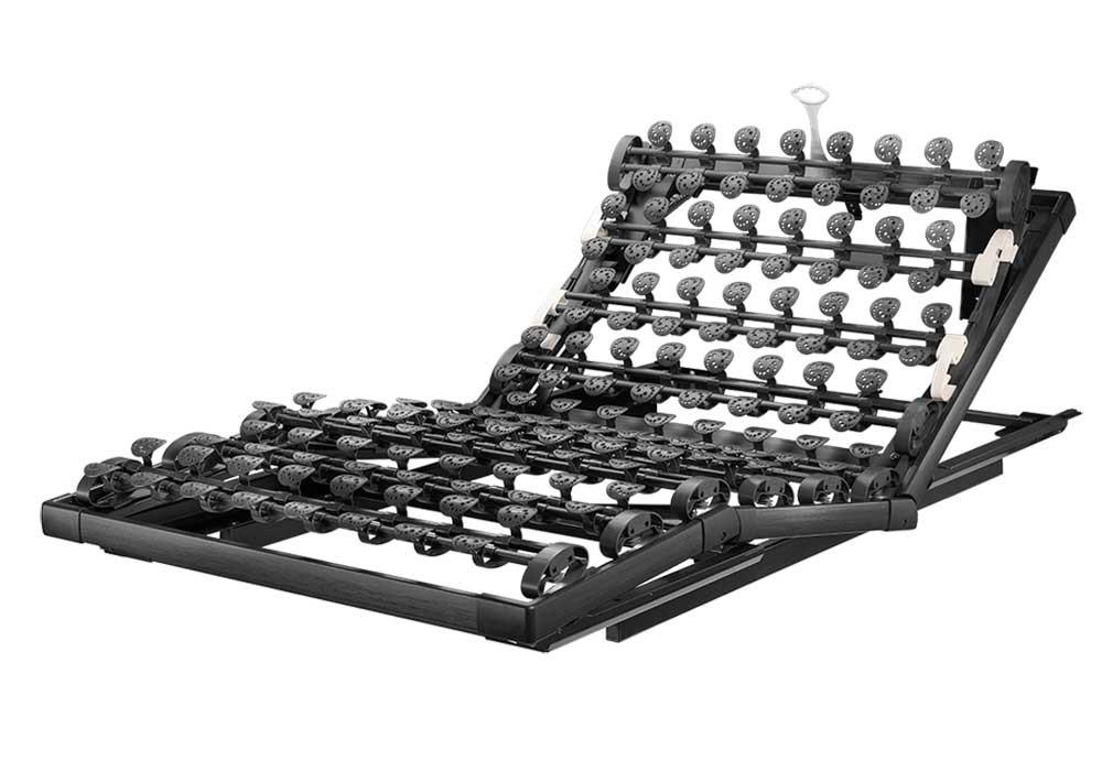 Der High Tech Rahmen mit Gasdruckverstellung für jedes Bett | Lattoflex 97