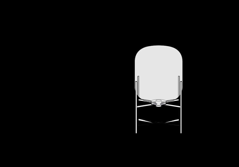 pulpo | Leuchte | ODA MEDIUM skizze