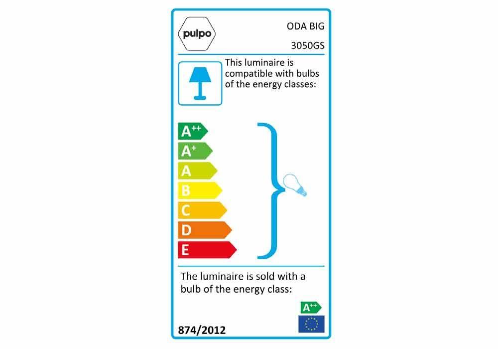 pulpo | Leuchte | ODA BIG Energieklasse GS