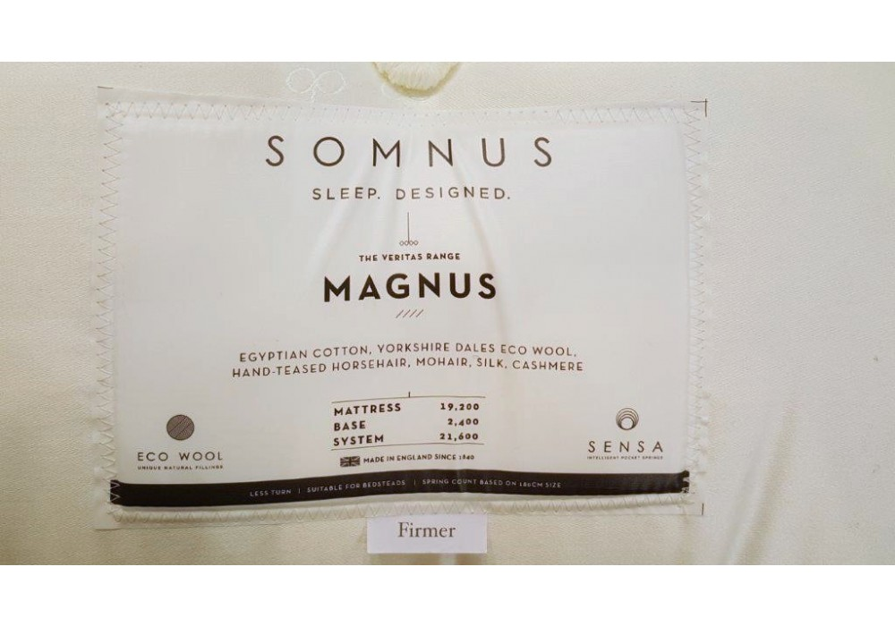 SOMNUS | Boxspringbett | Magnus 18200 Matratze