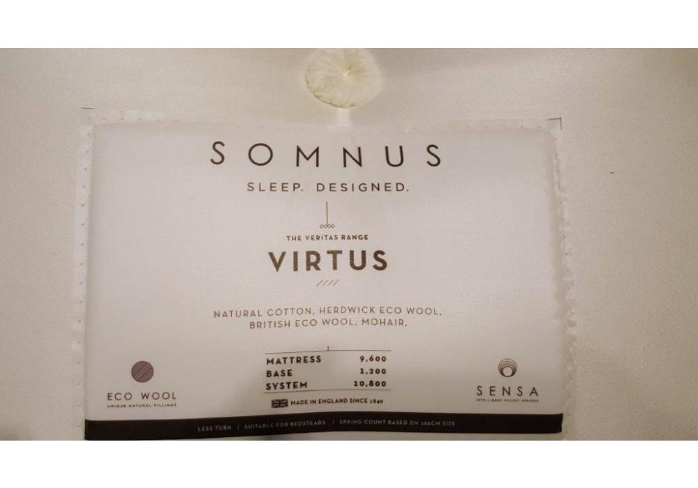 SOMNUS | Boxspringbett | Virtus Matratze