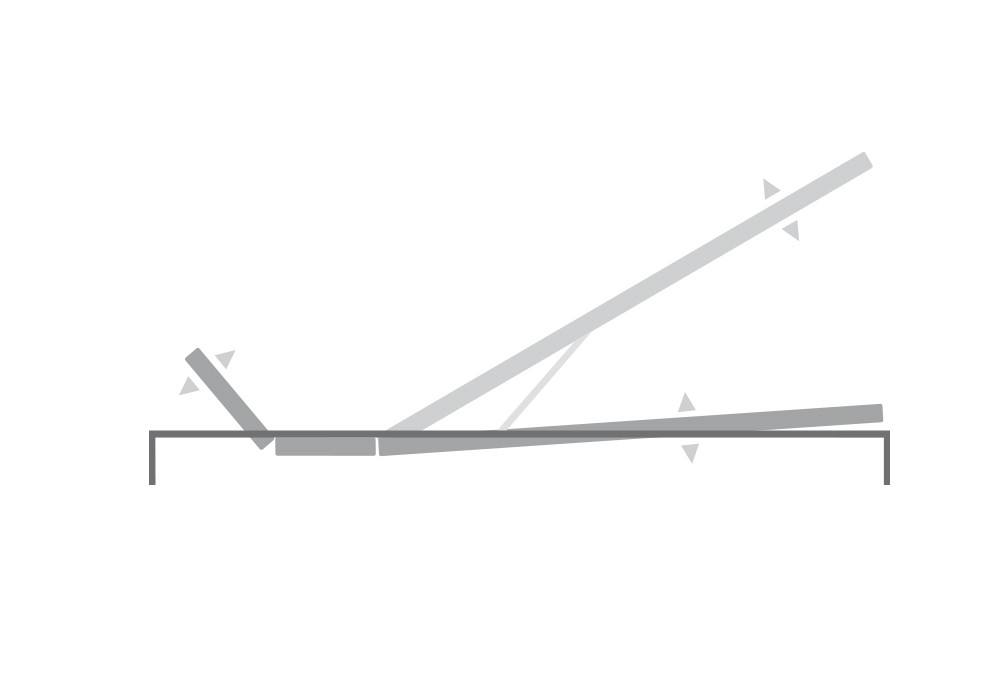 SCHRAMM | Untermatratze | UM-45 Vektor