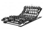Die motorische Unterfederung Lattoflex Thevo 983 besteht aus drei Motoren und vier Einstellungsmöglichkeiten für Kopf, Oberkörper/Rücken und Oberschenkel