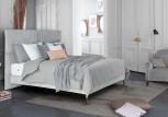 TRECA   Boxspringbett   PORTOFINO - vier geteiltes Kopfteil verleiht dem dem Bett einen modernen Charakter.