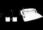 Kissenlautsprecher Lattoflex Skizze