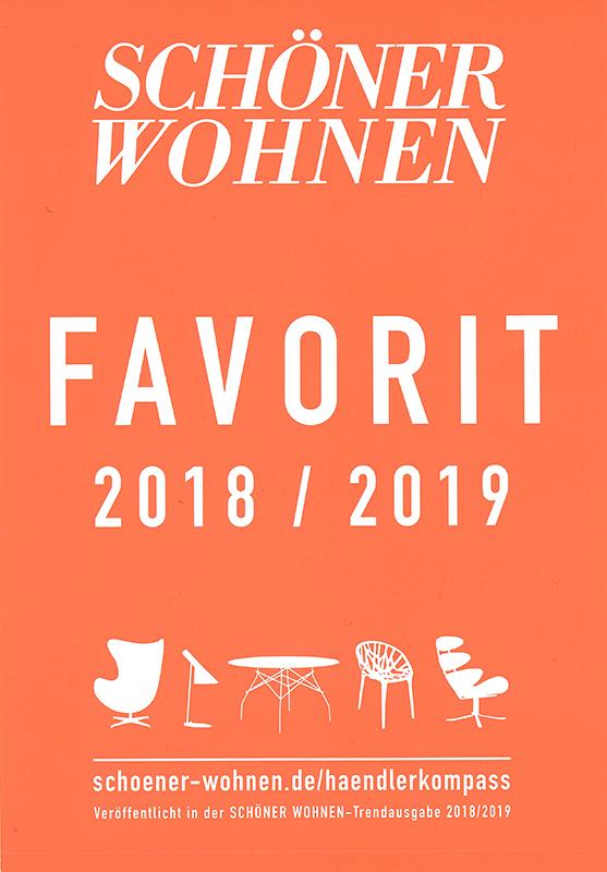 schöner Wohnen Favorit 2018-2019