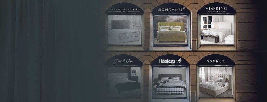Boxspringbetten und Luxusbetten in einem Shop | LEENERS®