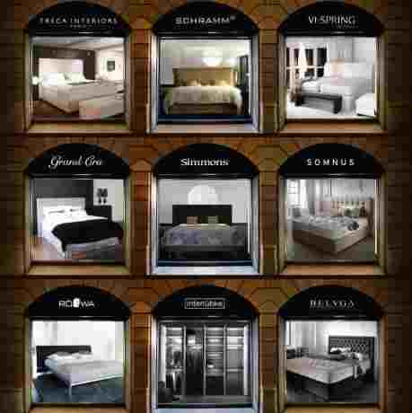 boxspringbetten und luxusbetten in einem shop leeners. Black Bedroom Furniture Sets. Home Design Ideas